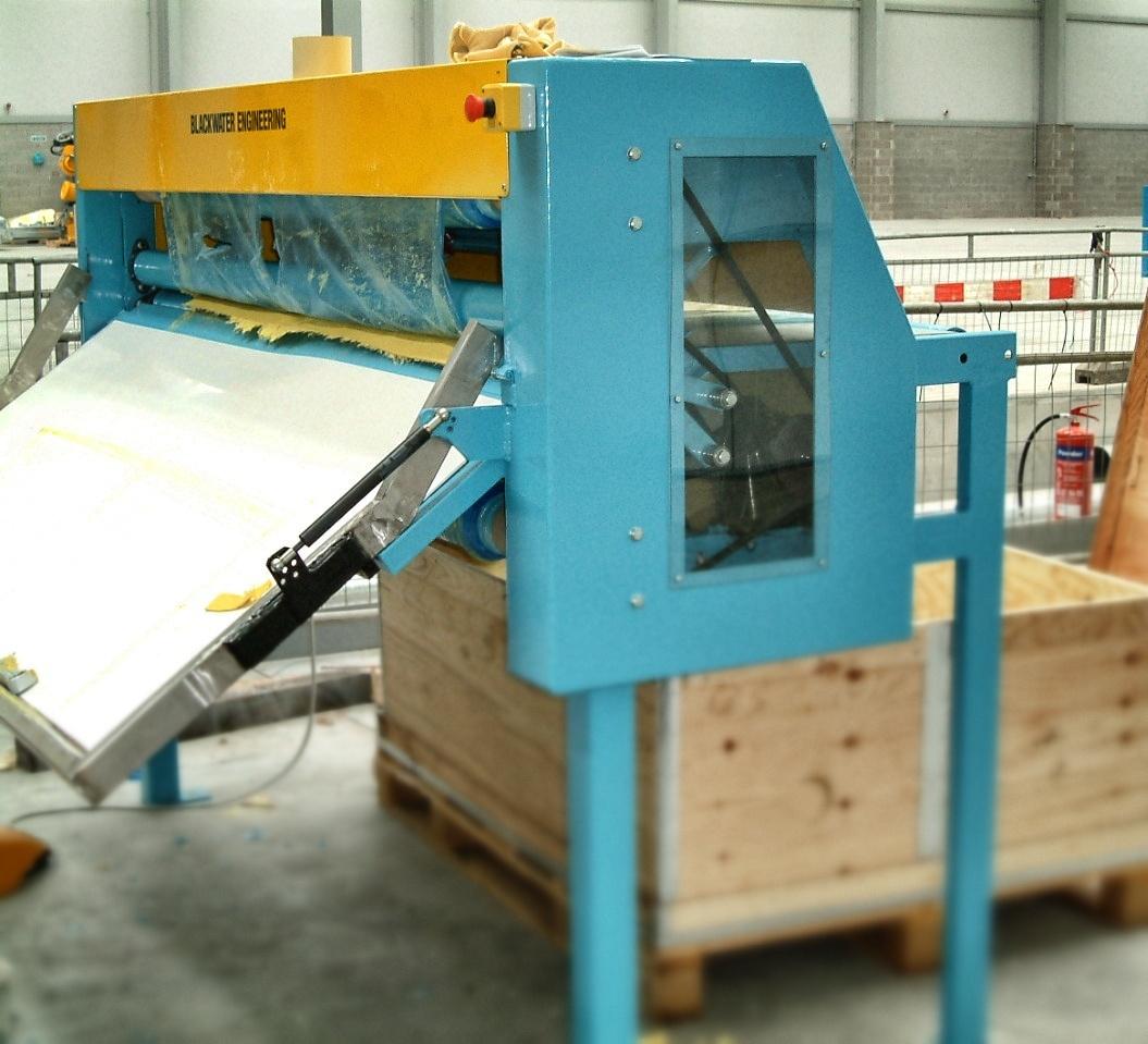 Plastic Hauloff Machine